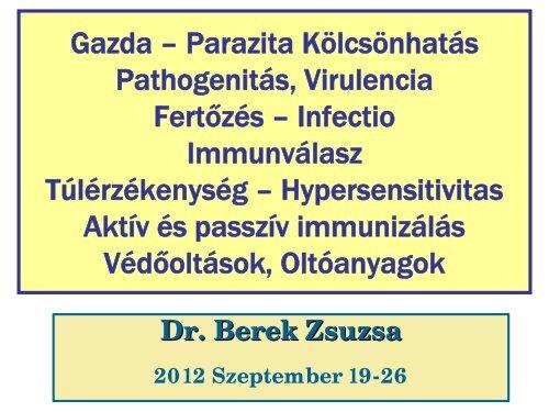 a nyirokparazita kezelése