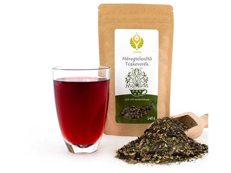 A viteldíjak tea méregteleníti a vastagbelet